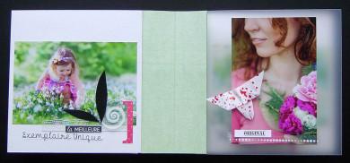 Kit Mini-Album Pause Bonheur